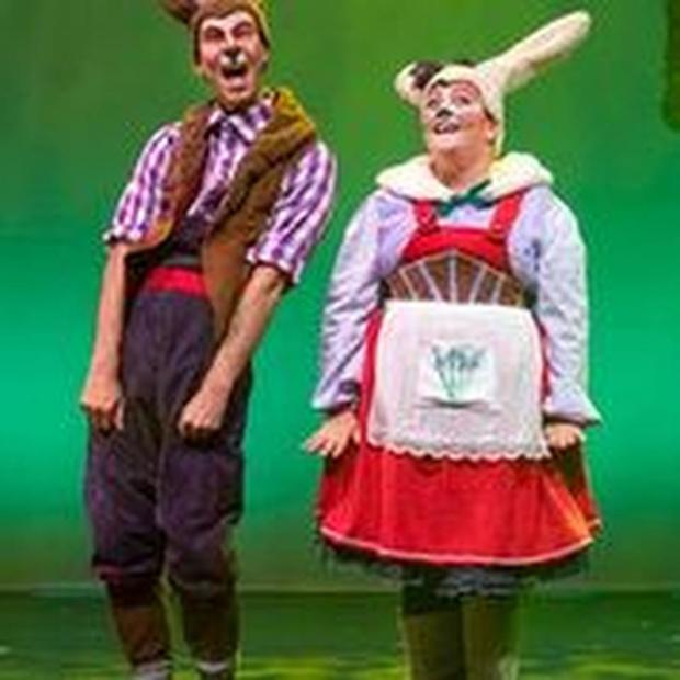 West-Vlaamse sprookjesboskonijnen brengen eerste eigen show in 'Whoppie en Floppie Sprookjesland'
