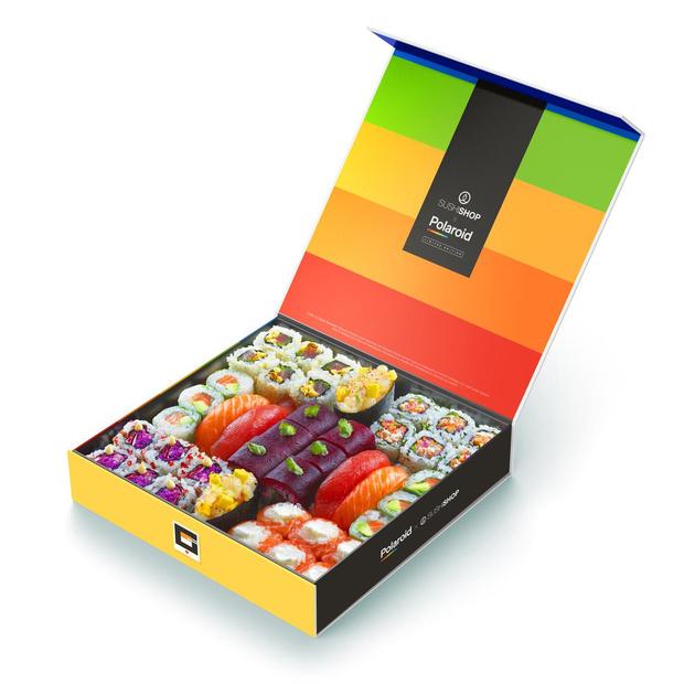 Sushi Shop lanceert samen met Polaroid een vintagebox