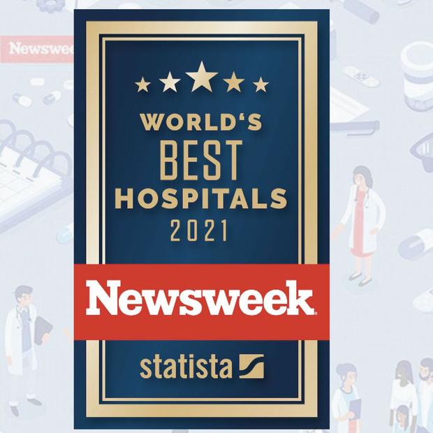 Newsweek publiceert top 100 beste ziekenhuizen