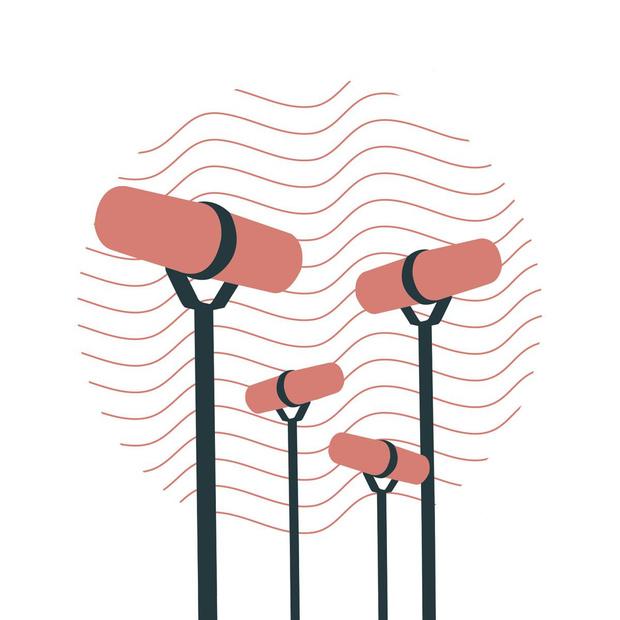 Les bulles sonores du Brussels Podcast Festival