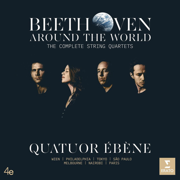 CD - Beethoven Around the World. The Complete String Quartets van Quatuor Ébène