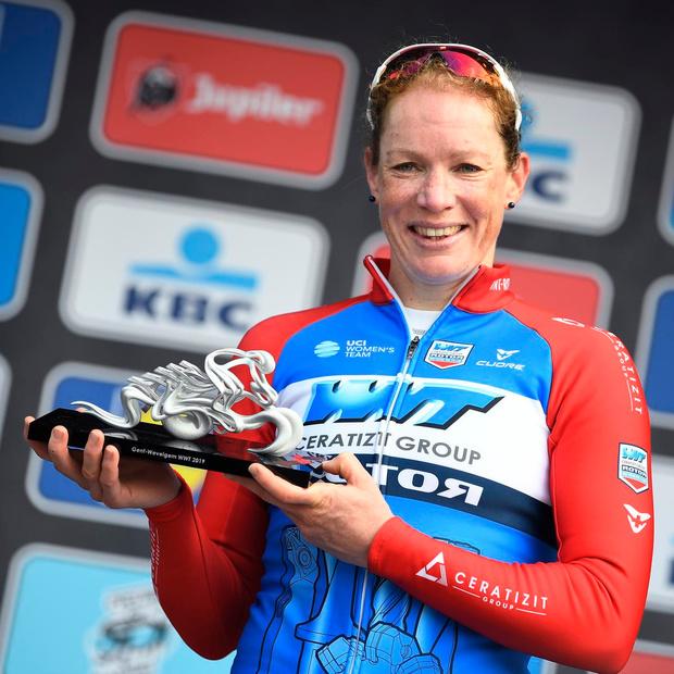 Nederlandse Kirsten Wild hoopt zichzelf op te volgen als winnares Gent-Wevelgem