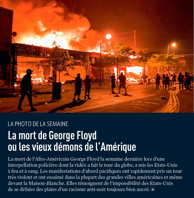 La mort de George Floyd ou les vieux démons de l'Amérique