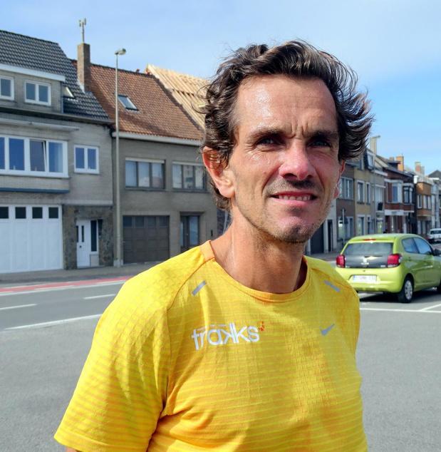 Oostends atleet Benny Fischer wil in recordtijd de kustlijn aflopen