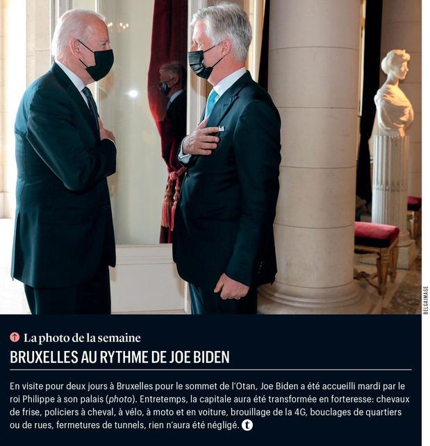 Bruxelles au rythme de Joe Biden