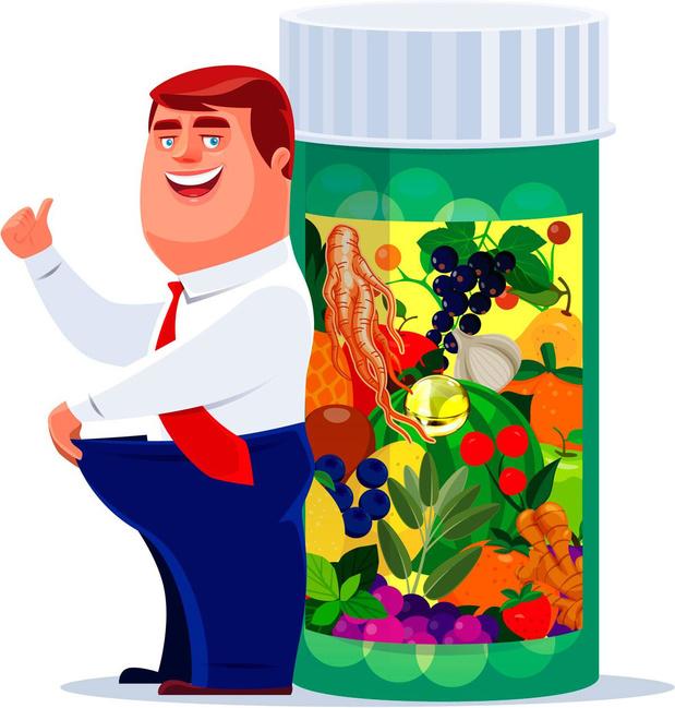 Perdre du poids grâce aux compléments alimentaires?