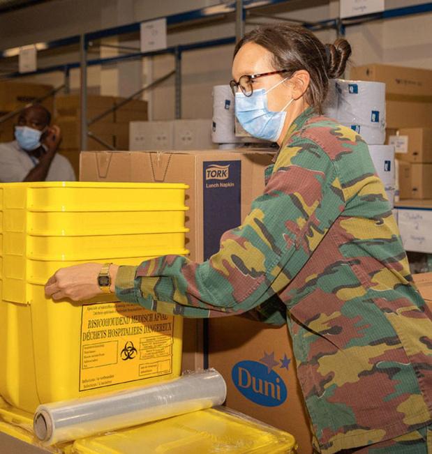 L'armée au secours de nos hôpitaux