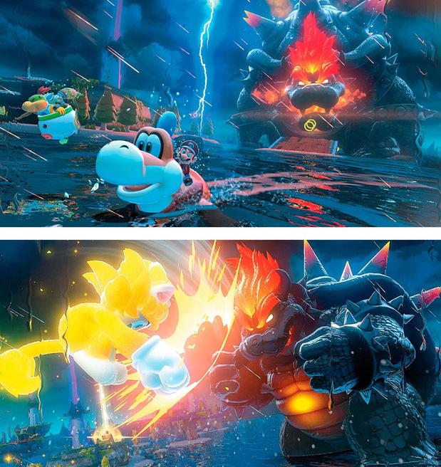 [le jeu de la semaine] Super Mario 3D World + Bowser's Fury: le bruit et la fureur