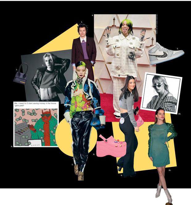 Billie Eilish, Angèle, Léa Elui et autres tiktokeuse: les nouveaux visages, juvéniles, du luxe