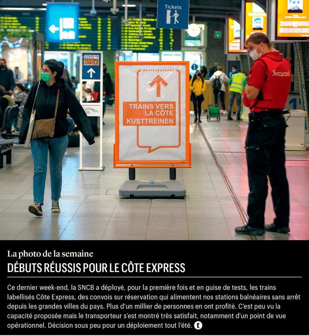Débuts réussis pour le Côte Express