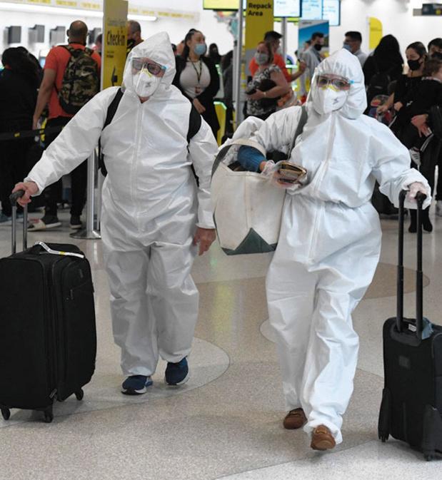 Les Américains ont bravé la pandémie