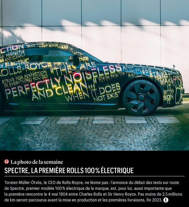 Spectre, la première Rolls 100% électrique