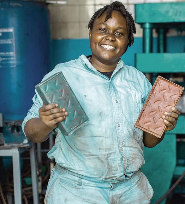 C'est beau comme les briques de Nzambi Matee, par Thierry Fiorilli (chronique)