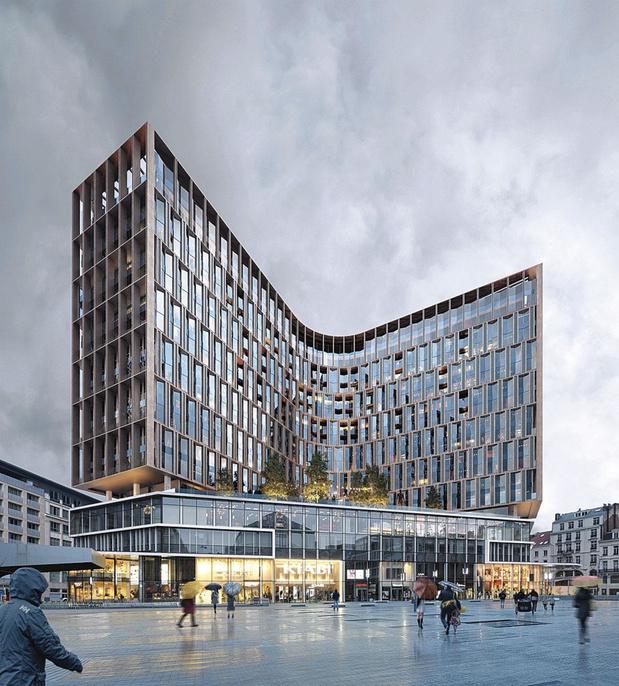Des architectes norvégiens et belges pour le Centre Monnaie
