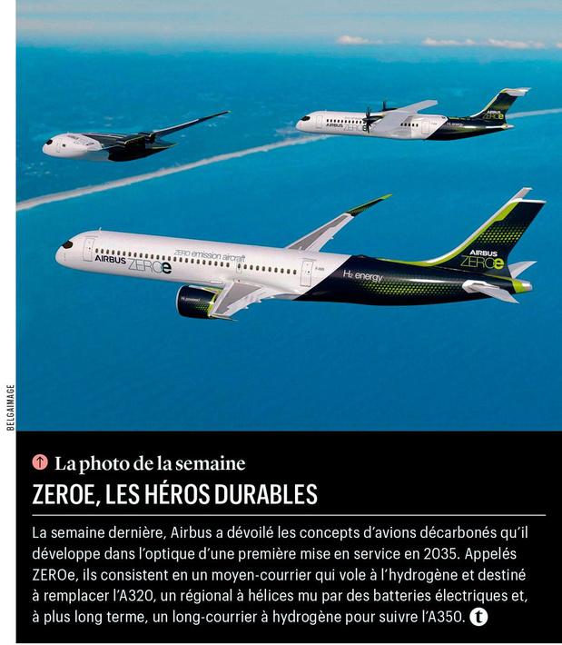 ZEROe, les héros durables