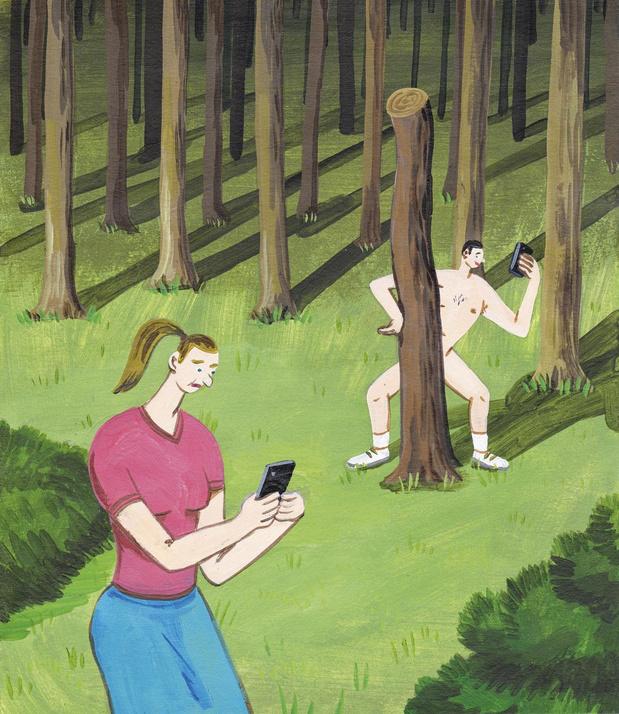 Dick pics: pourquoi certains hommes se sentent-ils obligés d'exhiber leurs attributs?