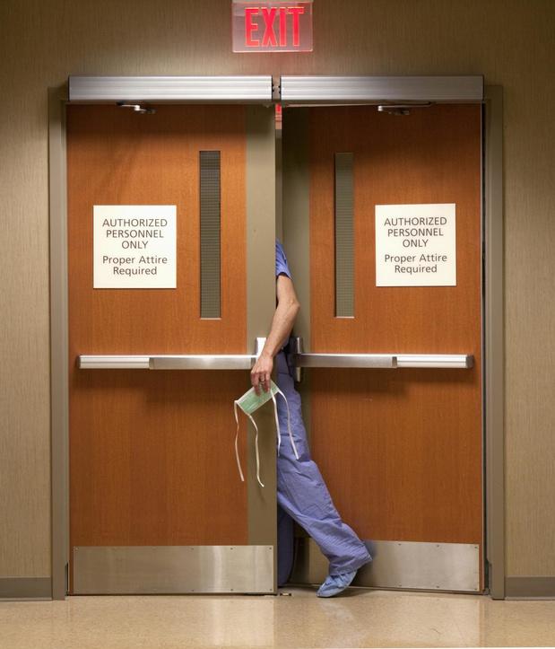 Plus de sorties d'hôpital que d'admissions ces dernières 24 heures