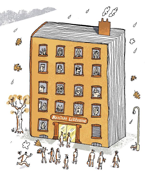 Pages en émoi: 40 romans et récits qui font la rentrée littéraire