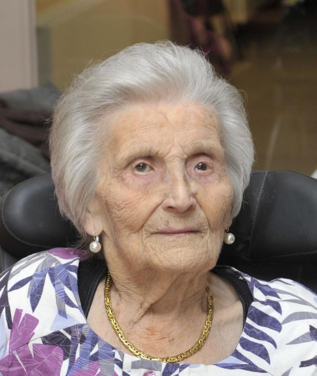 104-jarige Julia Mistiaen zachtjes overleden in wzc Maria Rustoord in Ingelmunster