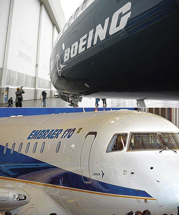 Boeing renonce à Embraer