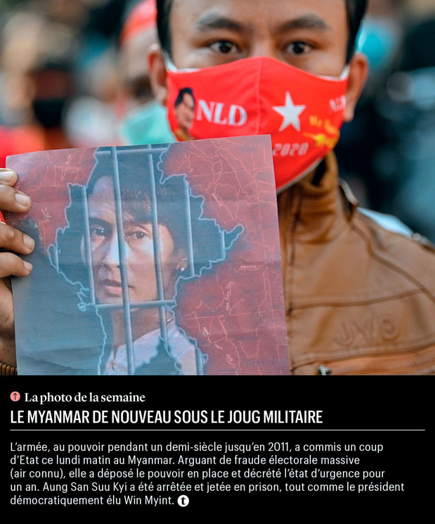 Le Myanmar de nouveau sous le joug militaire