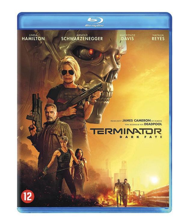 5x blu-ray Terminator: Dark Fate