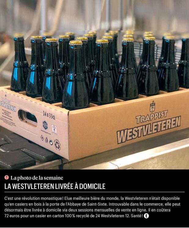 La Westvleteren livrée à domicile