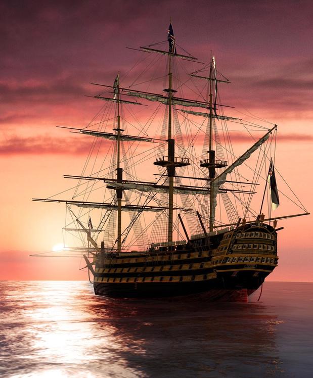 Tombé de la trousse - Combat naval