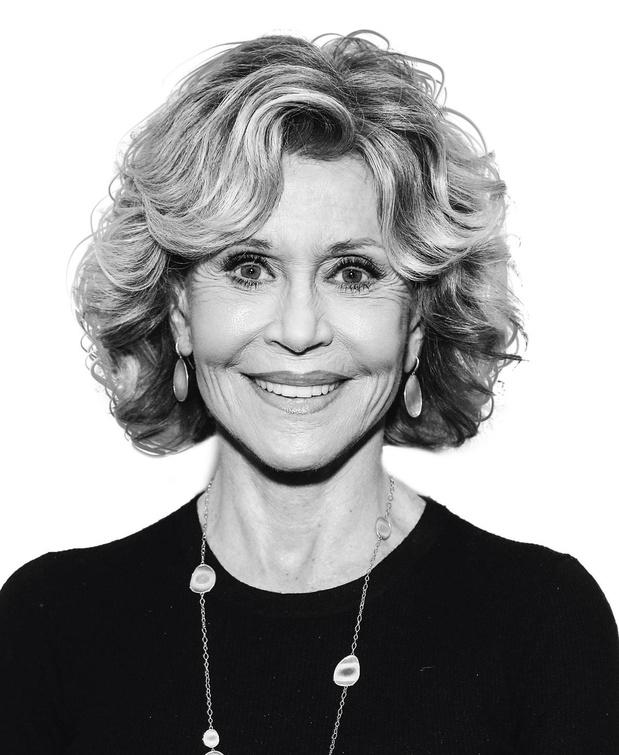 Jane Fonda - Gezicht van Gucci