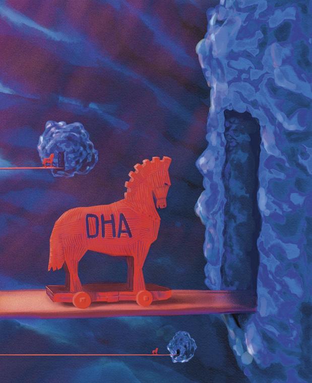 Comment le DHA intoxique les tumeurs
