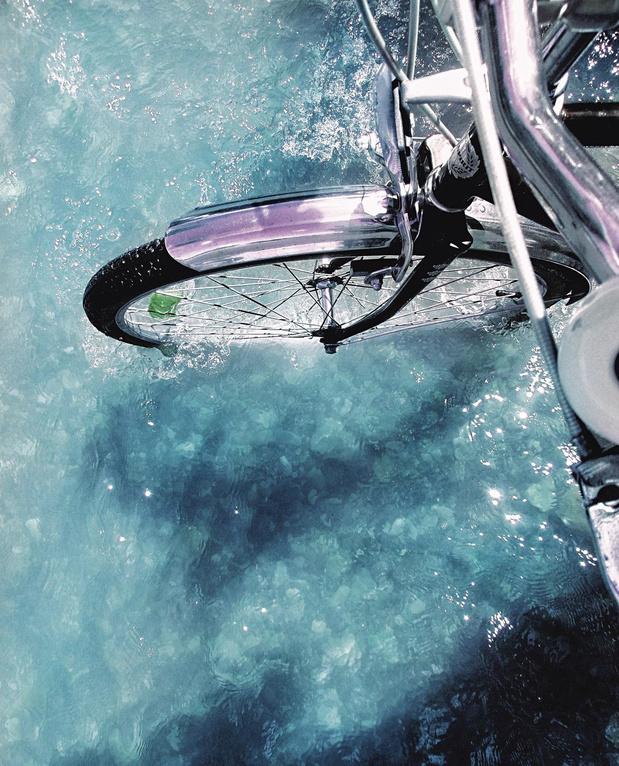 Votre vélo va toujours à la piscine?