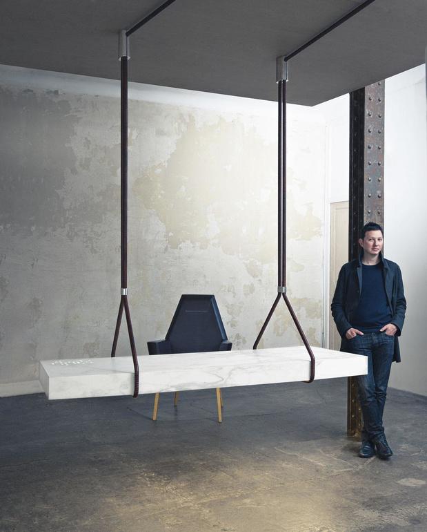 """Ramy Fischler: """"Le design doit disrupter le monde, c'est impossible de rester sage et académique"""""""