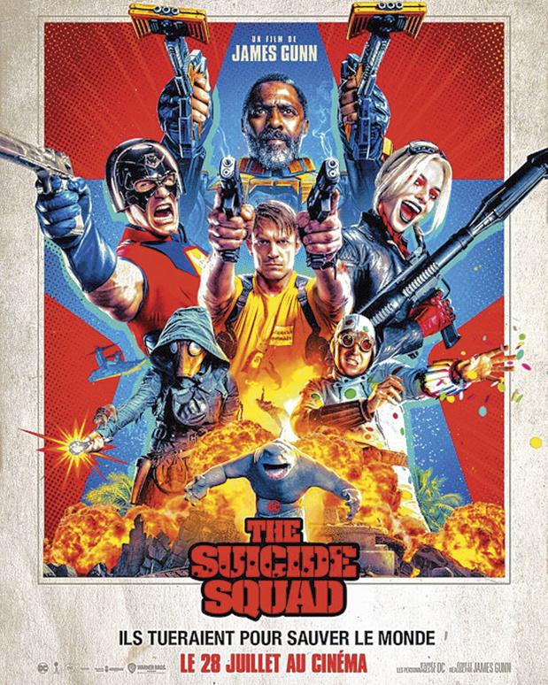 [critique ciné] The Suicide Squad, un rollercoaster sauvé par le second degré