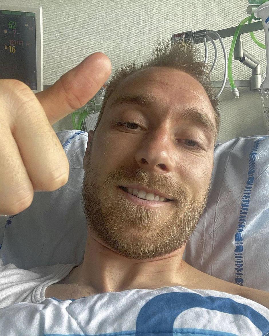 Eriksen, mort et ressuscité sur le terrain grâce aux progrès de la médecine
