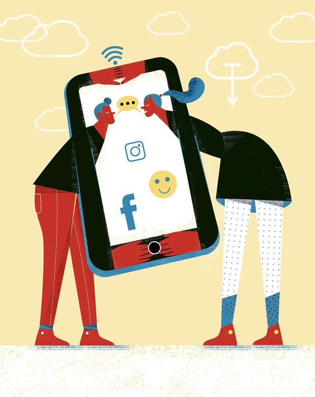 La société écrans: comment les réseaux sociaux influencent les relations de nos ados