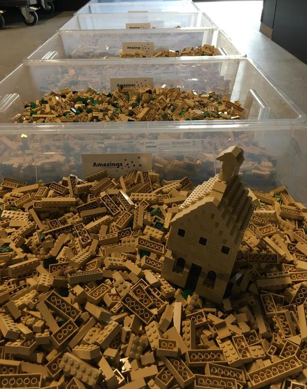 Bouw Zonnebeke mee op met 25.000 Lego-blokken