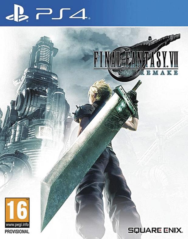 3x Final Fantasy VII Remake