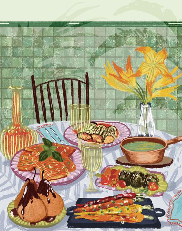Nos 100 adresses coups de coeur 6/8: 13 restaurants où le vert règne en maître dans l'assiette