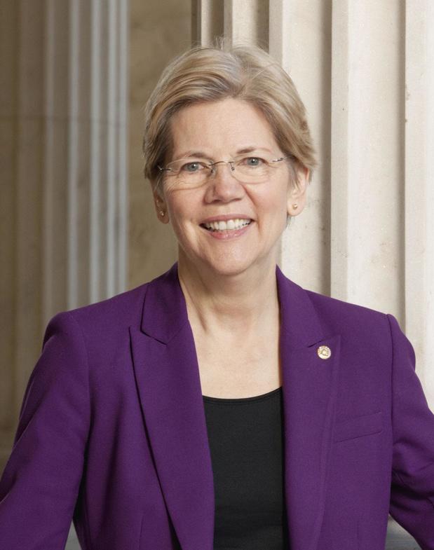 Elizabeth Warren, ex-presidentskandidaat en parlementslid bij de democraten over de voorzitter van de Amerikaanse centrale bank