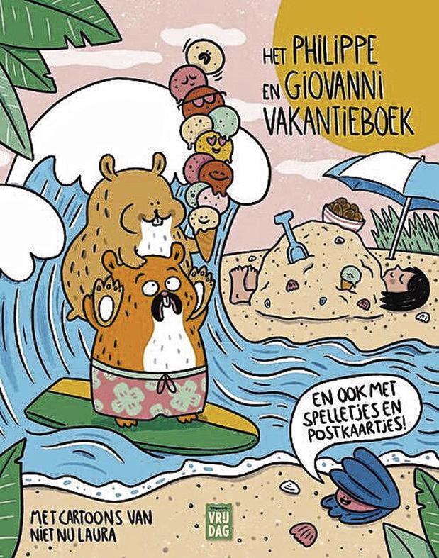 3. Het Philippe en Giovanni-vakantieboek