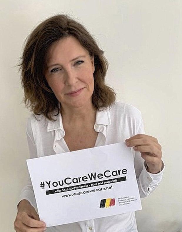 """Carine Van Lier (You Care We Care), l'une de nos personnalités de l'année: """"On voulait leur permettre de souffler"""""""