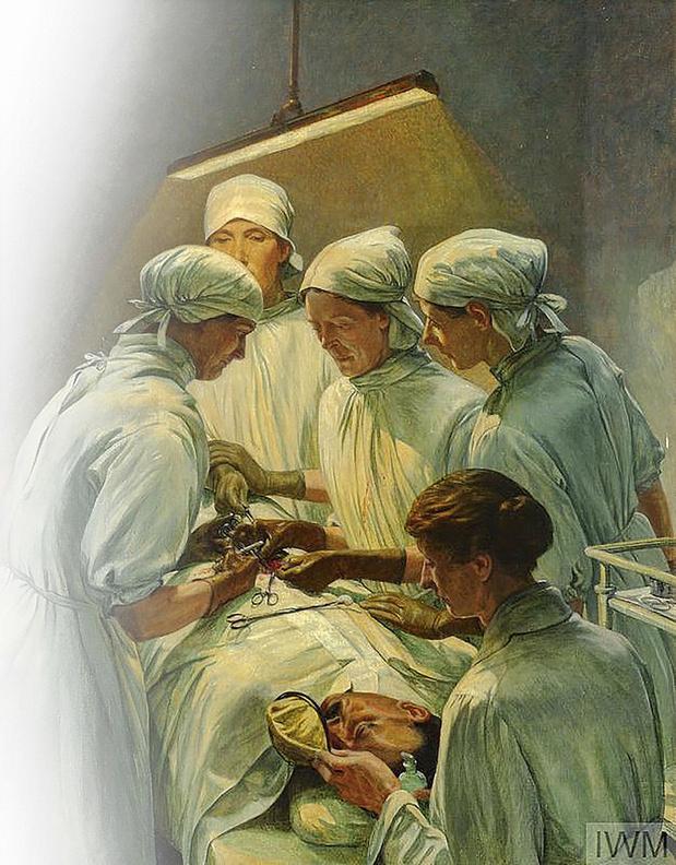Oorlogshospitaal gerund door vrouwelijke artsen