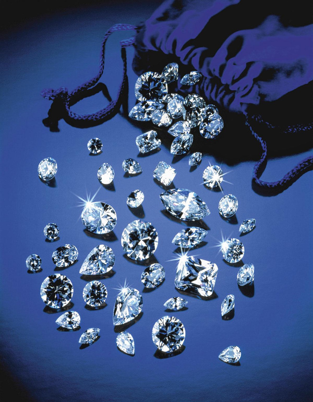 Ruwe diamant is 10 procent duurder