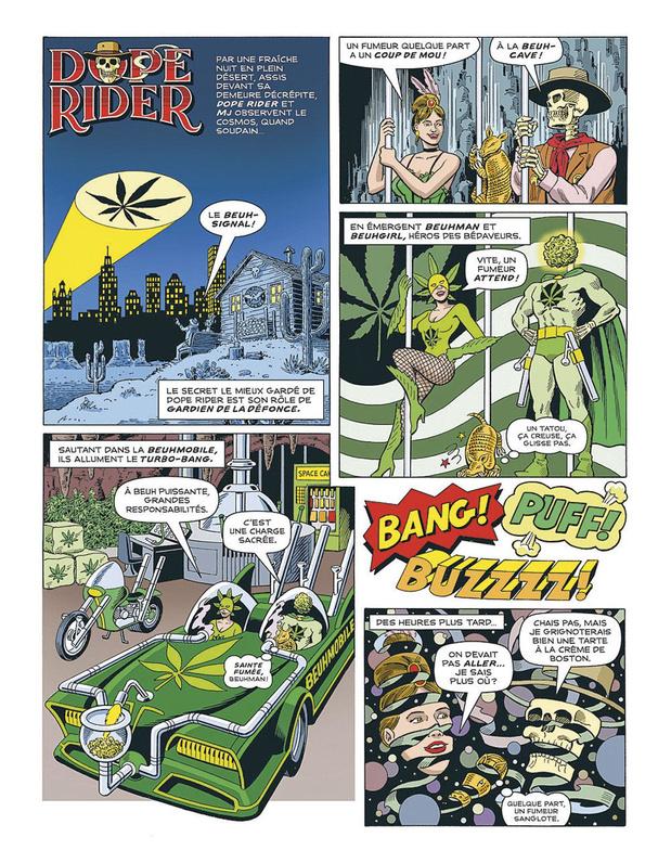 Dope Rider - Pour une poignée de délires