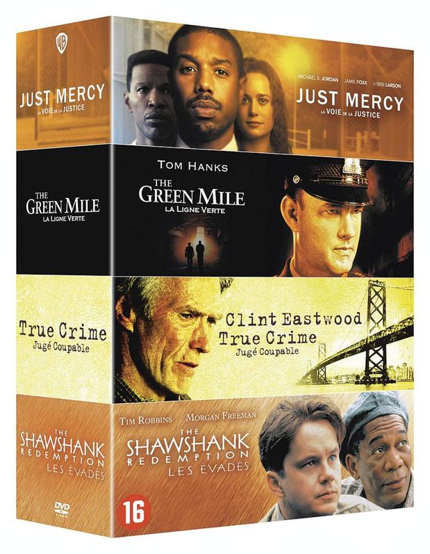 Injustice Collection - Un coffret de 4 DVD