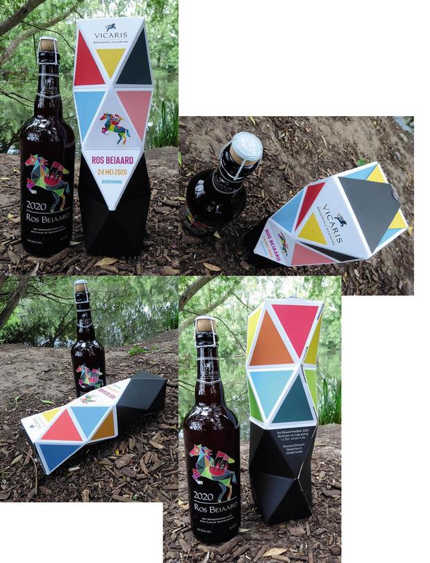 3Motion crée un emballage de luxe pour la bière Vicaris