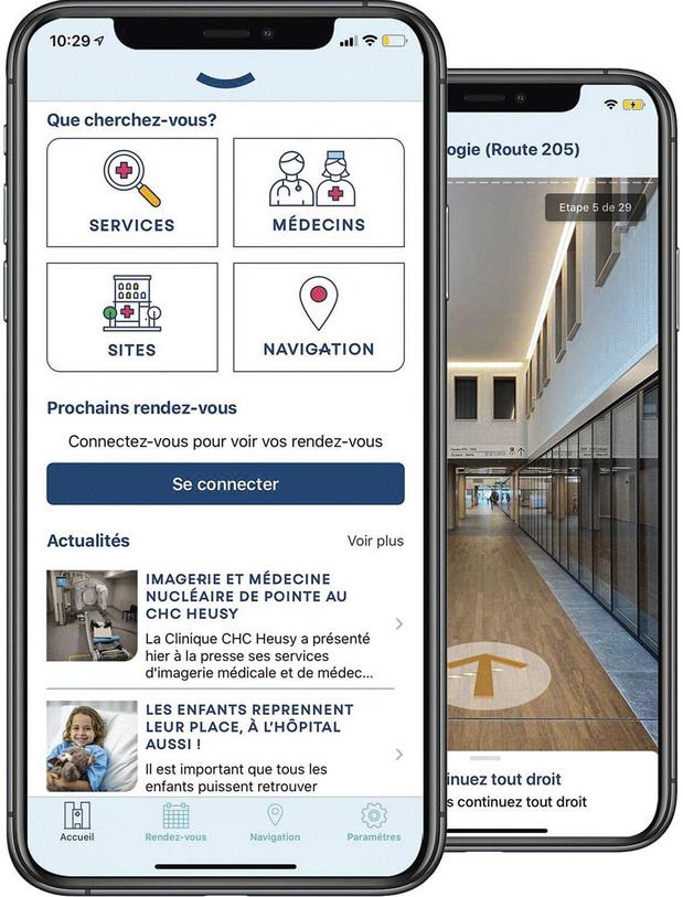 Le Groupe santé CHC lance son application mobile