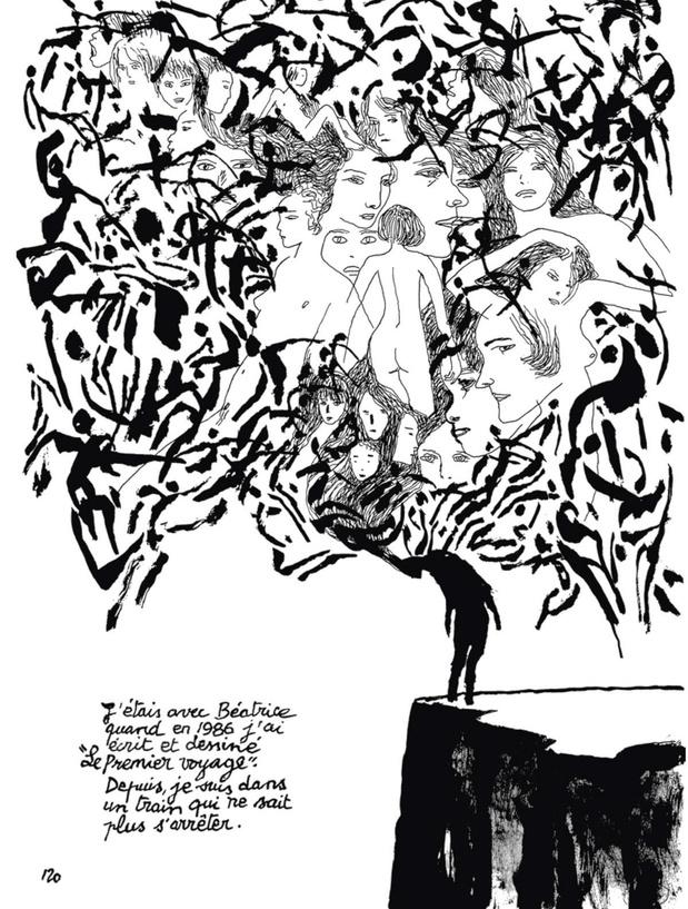 [la bd de la semaine] Les Fleurs de cimetière, d'Edmond Baudoin