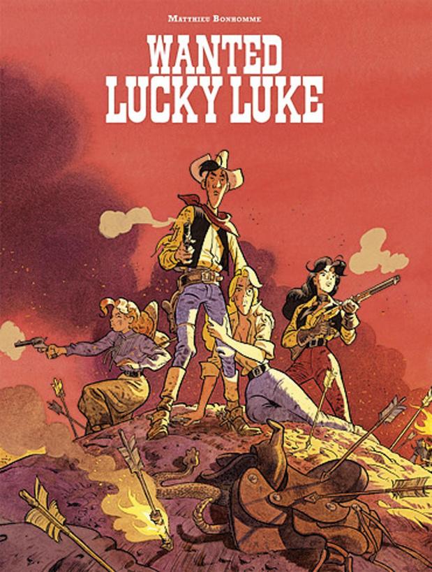 Wanted, Lucky Luke