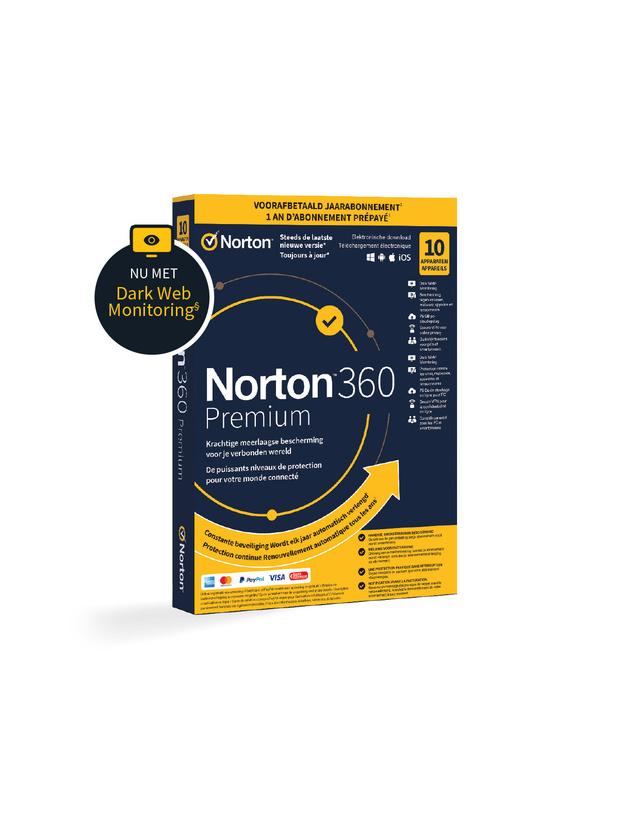 Protégez vos appareils avec NortonTM 360 Premium